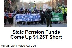 State Pension Funds Come Up $1.26T Short