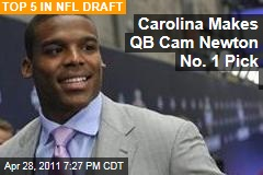 NFL Draft: Carolina Panthers Pick Auburn Quarterback Cam Newton First