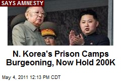N. Korea's Prison Camps Burgeoning, Now Hold 200K