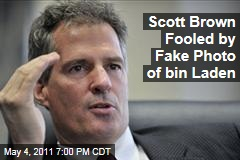 Scott Brown Admits Getting Fooled by Fake Internet Photo of Osama bin Laden