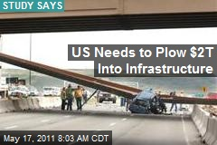 US Needs to Plow $2T Into Infrastructure