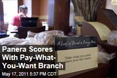 Panera Bread Scores With Pay-What-You-Want Branch