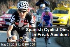 Spanish Cyclist Xavier Tondo Dies in Freak Garage Accident