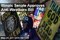 Illinois Senate Approves Anti-Westboro Baptist Church Bill That Restricts Funeral Protesters