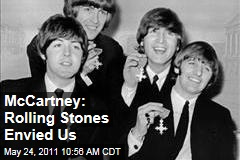 Paul McCartney: Rolling Stones Envied the Beatles