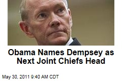President Obama Names Army Gen. Martin Dempsey as Next Joint Chiefs of Staff Chairman