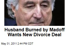 Husband Sues Wife Over Divorce Settlement Because He Lost His Share in Bernie Madoff Ponzi Scheme