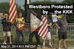 KKK Meets WBC: Westboro Baptist Church Counter-Protested by the Ku Klux Klan