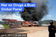War On Drugs a Bust: Global Panel