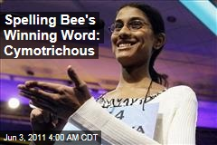 Sukanya Roy Wins Scripps National Spelling Bee on 'Cymotrichous'