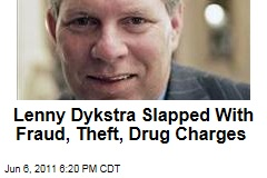 Ex-MLB Player Lenny Dykstra Faces Fraud, Grand Theft, and Drug Charges
