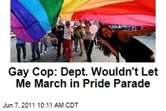 Gay Cop Says His Department Wouldn't Let Him March in Pride Parade