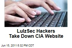 LulzSec Hackers Take Down CIA Website