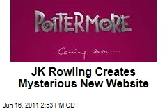JK Rowling&#39;s Pottermore: Harry Potter Author Launces Mysterious New Website