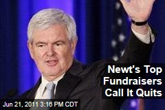 Election 2012: Newt Gingrich's Top Fundraisers Quit