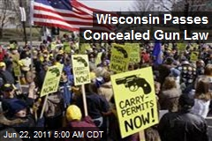 Wisconsin Passes Concealed Carry Law