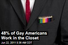 48% of College-Educated Gay Americans Work in the Closet: Study
