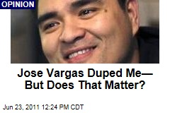 Jose Antonio Vargas Duped Me, But Does That Matter, Asks Phil Bronstein