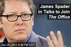 James Spader in Talks to Join The Office