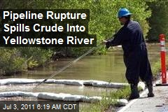 Pipeline Rupture Spills Crude Into Yellowstone River