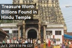 Treasure Worth Billions Found in Hindu Temple