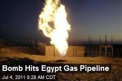 Bomb Hits Egypt Gas Pipeline