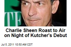 Charlie Sheen's Comedy Central Roast Will Air Same Night Ashton Kutcher Debuts on 'Two and a Half Men'