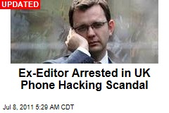 Former News of the World Editor Andy Coulson Faces Arrest in Phone Hacking Scandal