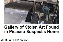 Gallery of Stolen Art Found in Home of Picasso Theft Suspect Mark Lugo