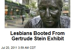Lesbians Booted From Gertrude Stein Exhibit