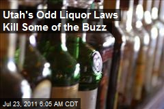 Utah's Odd Liquor Laws Kill Some of the Buzz