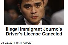 Washington State Cancels Driver&#39;s License of Jose Antonio Vargas, Journalist Who Came Out as Illegal Immigrant