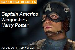 Captain America Vanquishes Harry Potter