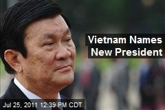 Vietnam Names New President