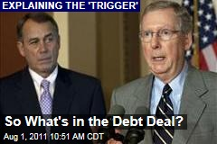 So What&#39;s in the Debt Deal? Ezra Klein Explains