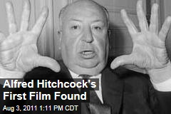 Alfred Hitchcock&#39;s First Film Found