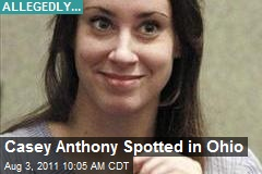 Casey Anthony Spotted in Ohio
