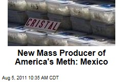 Methamphetamine Production On the Rise Among Mexican Drug Cartels