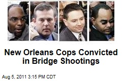 Five New Orleans Cops Found Guilty of Post-Katrina Bridge Shootings, Cover-Up