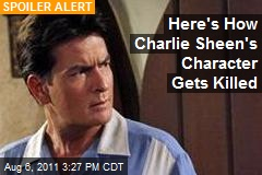 Here's How Charlie Sheen's Character Gets Killed