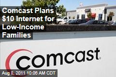 Low-Income Families to Get $10 Internet Access Via Comcast
