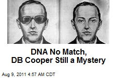DNA No Match, DB Cooper Still a Mystery