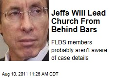 Warren Jeffs Retains Fundamentalist Latter Day Saints Members: Will Likely Lead Church From Prison