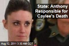 Florida: Casey Anthony Responsible for Caylee's Death