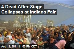 Indiana State Fair: Stage Collapses Before Sugarland Concert, Killing at Least 3