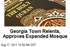 Georgia Town Relents, Approves Expanded Mosque