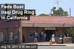Feds Bust Iraqi Drug Ring in California