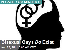 Study: Hey, Bisexual Guys Exist!
