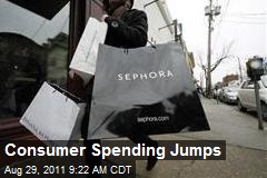 Consumer Spending Jumps