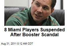 University of Miami: After Hurricanes Booster Scandal, Eight Football Players Suspended by NCAA